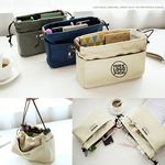 Custom Canvas Drawstring Hand Bag