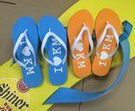 Custom Man's Flip Flop/Slipper