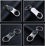 Custom Bottle Opener Compass Key Chain
