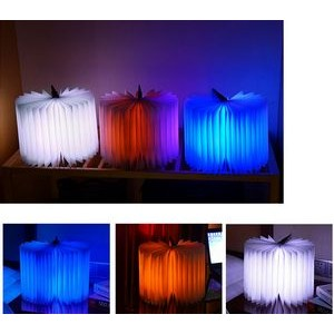 LED Book Shaped Lamp
