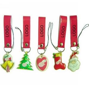 Christmas Series Cell Phone Screen Cleaner Key Chain