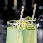 Custom Jumbo Paper Straws - Straight or Eco-Flex, 10.5