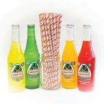 Custom Giant Paper Straws - Straight, 7.75