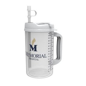 32 Oz. Thermo Mug W/ Straw