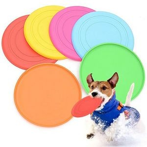 Silicone Flying Discs