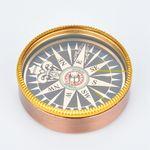 Custom Archaized Metal Compass