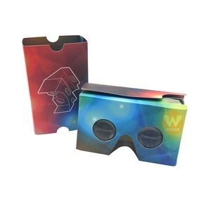 Full Color Imprint Cardboard 3D Virtual Reality Glasses