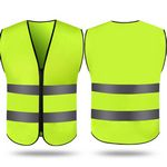 Custom High Visibility Adult Safety Vest