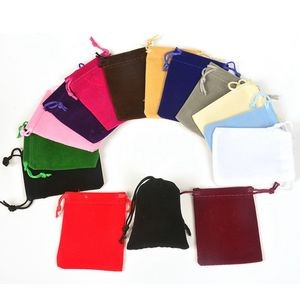 Velvet Cloth Drawstring Bags