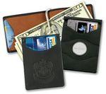 Custom Currency Organizer Wallet (Debossed)