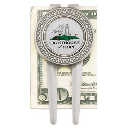 Medallion Repair Tool & Money Clip w/ Magnetic Removable Ball Marker