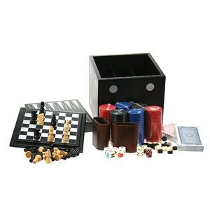 Chess and Other Games in Dice Box
