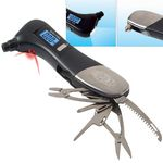 Custom Safety Hammer Multi-tool w/ Digital Tire Gauge