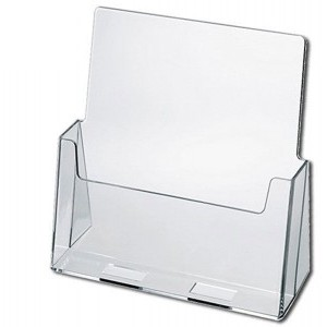"Letter Size Brochure Holders -(Fits 8 1/2""x11""x1 3/4"" Inserts)"