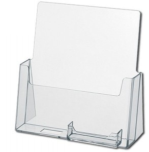 Letter Size Holder w/Business Card Pocket (8.5x11)