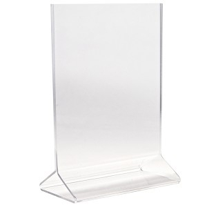 Double Sided Holder Acrylic (3x5)