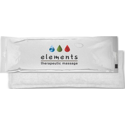 "Clear Cloth-Backed, Stay-Soft Gel Cold/Heat Pack w/Four-Color Process (4.5""x12"")"