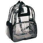 Custom Heavy Clear Vinyl Backpack