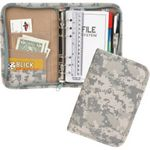 Custom 600 D Polyester Small Digital Camo Planner