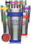 Custom 16 oz. Insulated Stainless Steel Travel Mugs