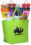 Custom Non-Woven Budget Shopper Tote Bags
