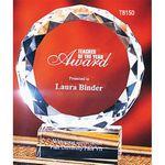 Custom Large Crystal Victory Award