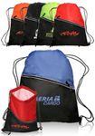 Custom Two-Tone Drawstring Sports Packs