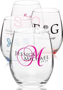 9 oz Arc Perfection Stemless Wine Glasses