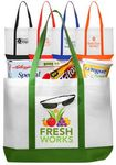 Custom Non-Woven Tote Bag with Trim colors
