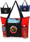 Custom Zippered Non-Woven Tote Bags