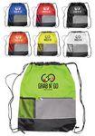 Custom Drawstring Backpacks with Front Pocket
