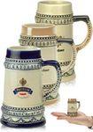 Custom 2 oz. Bremen Mini Ceramic Beer Mug Shooters