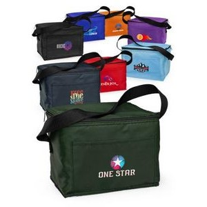 6 Pack Cooler Lunch Bag