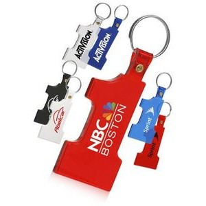 Number One Soft Key Chain