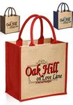 Custom Stylish Rope Handle Jute Bags