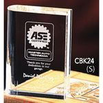 Custom Crystal Book Award