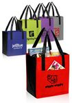 Custom Non-Woven Shoppers Pocket Tote Bag