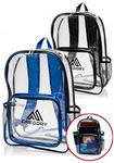 Custom 13W x 18H PVC Backpack with Pocket