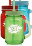Custom 15 oz. Colored Mason Jars