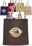 Custom Casual Jute Tote Bags