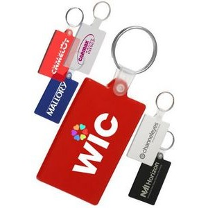 Rectangle Soft Key Chain
