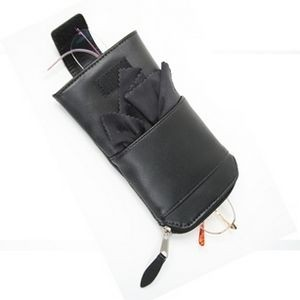 Leather Double Eyeglass Case