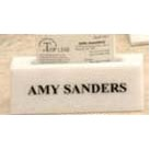 "White Genuine Marble Executive Name Block & Card Holder (6"")"