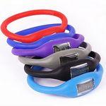 Custom Silicone Wristband Pedometer Step Counter