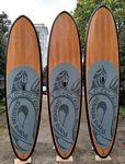 Custom 10'Paddle Board - Epoxy/Fiberglass/Bamboo