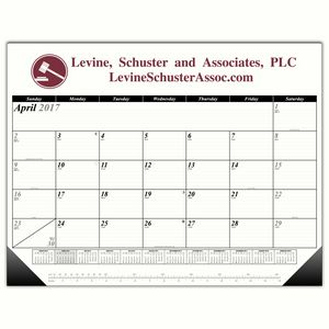 Classical A1 13-Month Calendar Desk Pad Forms