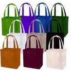 Custom Non-Woven 100 Grams Eco Friendly Grocery Shopping Tote w/Plastic Insert