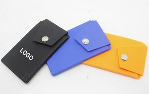 Silicone Phone Wallet With Stand Pocket