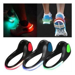 Luminous Safety Night Running Shoe Clips