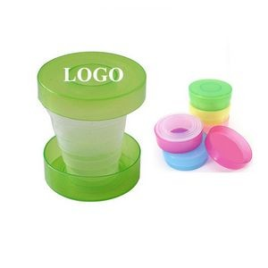 5 Oz. Retractable Folding Cup